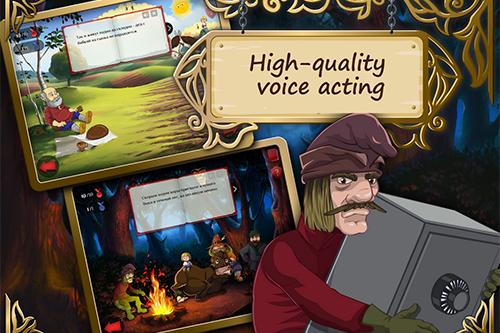 Перевод и озвучивание детских интерактивных сказок