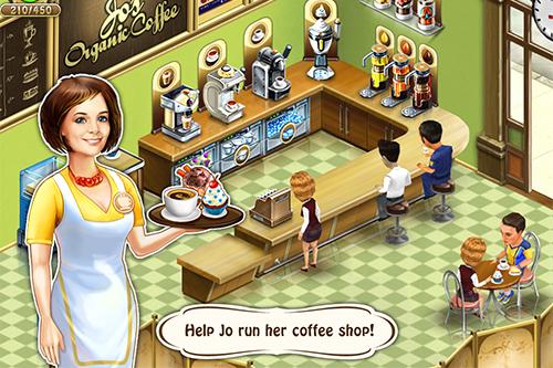 Локализация игры «Кофейня: бизнес-симулятор кафе» от компании Melesta Games