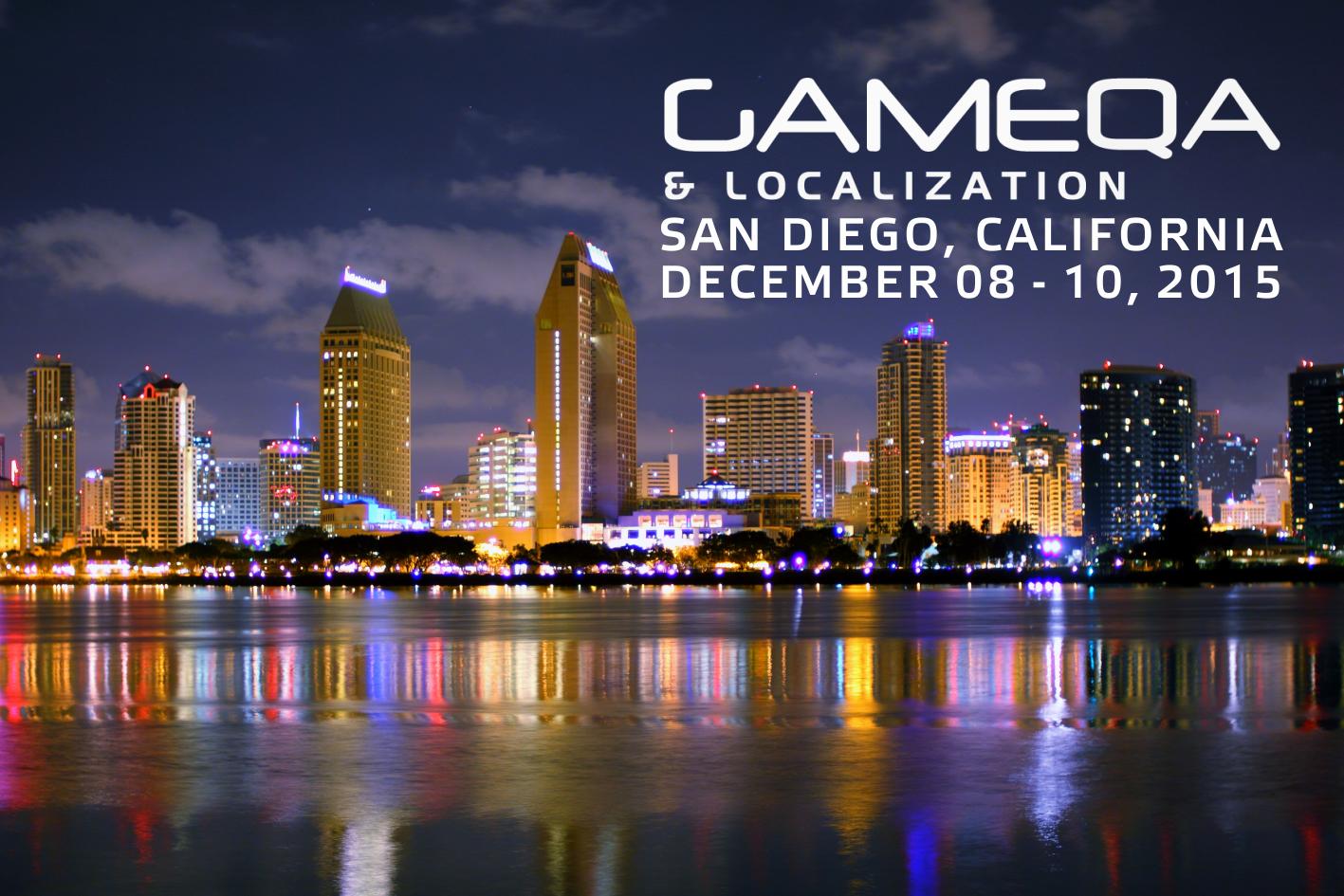 Участие в конференции Game QA & Localization в Сан-Диего