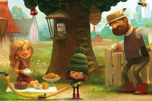 Озвучивание игры «Зеленая шапочка» от Bobaka