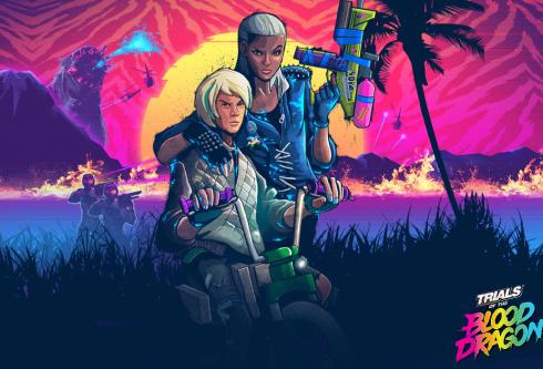 Локализация игры Trials of the blood dragon от компании Ubisoft
