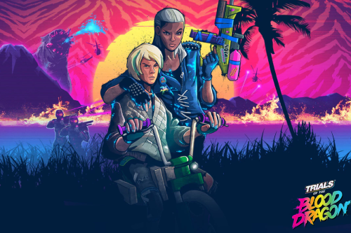 Локализация игры Trials of the blood dragon от компании Ubisoft