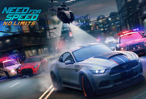 Локализация игры Need for Speed:  No Limits от Electronic Arts