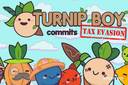 Turnip Boy By Snoozy Kazoo & Graffiti games